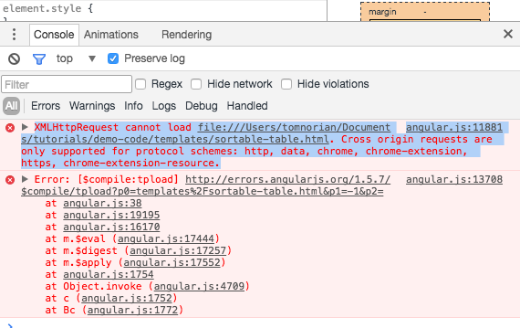 AngularJS Cross Origin Template Error lead-image