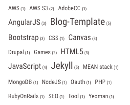 A Liquid Tag-Cloud for Jekyll Blogs lead-image