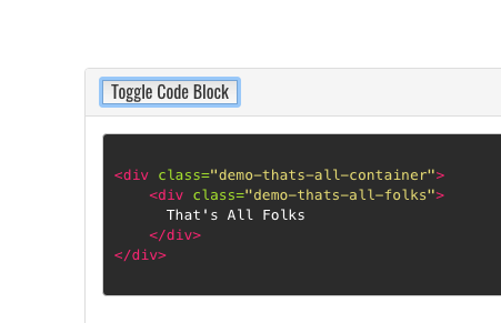 Toggle Code Display in this Jekyll Template lead-image